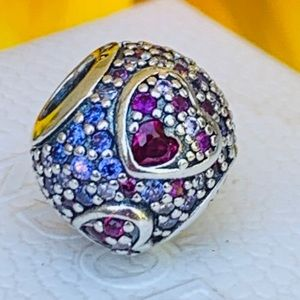 Pandora Heart stone charm